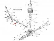 FS-15RB/RS Gaźnik - harmonijka przepustnicy Tamiya 7684068