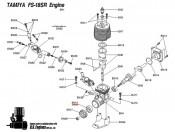 Łożysko kulkowe 17x7x5 FS-18SR TNX Tamiya 7684290