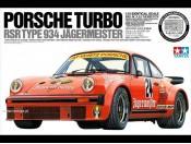 1/12 Porsche Turbo RSR Type 934 Jagermeister + elementy fototrawione Tamiya 12040