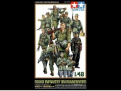 1/48 WWII German Infantry on Manuevers Tamiya 32530
