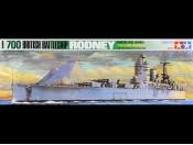 1/700 British Battleship Rodney Tamiya 77502