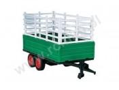 Przyczepa 2 osiowa do traktora Fendt 907171 Carson 907177