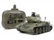 Tamiya 48210 Czołg T-34-85 2,4GHz Infrarot-Battle System - foto 1