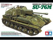 Tamiya 35348 1/35 Russian Self-Propelled Gun SU-76M - foto 1