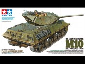 Tamiya 35350 1/35 US Tank Destroyer M10 mid. Prod. - foto 1