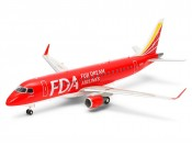 Tamiya 92197 1/100 Fuji Dream Airlines - Embraer 175 - foto 1