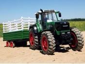 Traktor Fendt RTR 2,4GHz + przyczepa 2-osiowa Carson 9071717