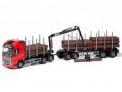 Emek 70305 Volvo FH16 750 XL transporter drewna czerwony