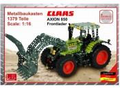 Traktor Claas Axion 850 z ładowaczem