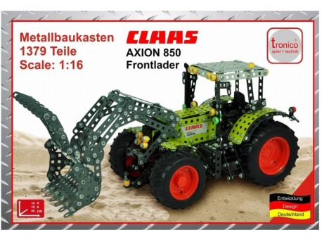 Traktor Claas Axion 850 z ładowaczem Tronico10061