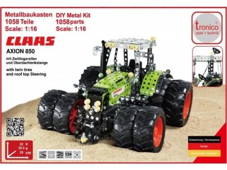 Traktor Claas Axion 850 z bliźniakami Tronico 10063