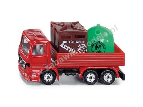 Ciężarówka MB recykling