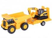 Zabawka wywrotka z koparką CAT Lights/Sound ToyState 34719