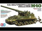 1/35 US Self-Propelled 155mm Gun M40 Tamiya 35351