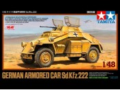 1/48 German Armored Car Sd.Kfz.222 Tamiya 89777