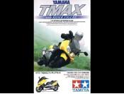 1/24 Yamaha TMAX with Rider Figure Tamiya 24256