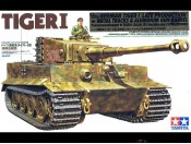 Tamiya 89628 1/35 German Tiger I w/Metal Tracks - foto 1