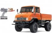 CC-01 MB Unimog 406 U900 2,4GHz XB RTR Orange Tamiya 57843