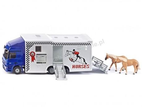 MB Actros transporter do przewozu koni 1/50