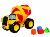 Betoniarka CAT sorter kształtów ToyState 80219
