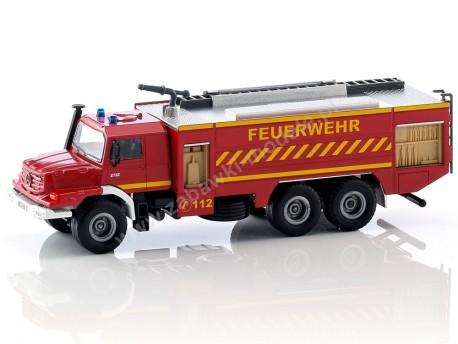 Wóz strażacki Mercedes Benz Zetros