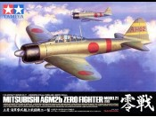 Tamiya 60317 1/32 Mitsubishi A6M2b Zero Fighter Model 21 Zeke - foto 1