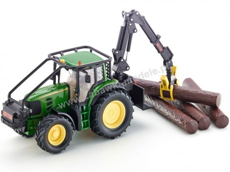 Traktor leśny John Deere 7530