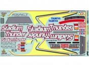 Naklejki 1:10 Stadium Thunder Tamiya 1425494