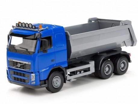 Emek 10154 Volvo FH wywrotka 3-osiowa kabina niebieska