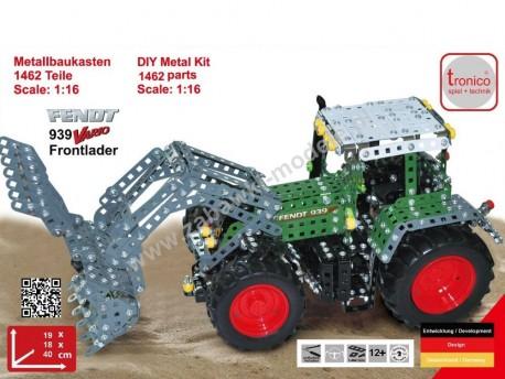 Traktor Fendt 939 Vario z ładowaczem