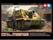 1/48 German 38cm Assault Mortar Sturmtiger Tamiya 32591