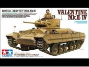 1/35 British Mk.III Valentine Mk.II/IV Tamiya 35352
