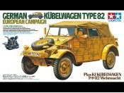 1/16 German Kubelwagen Type 82 European Campaign Tamiya 36205