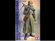 1/16 WWII German Machine Gunner Greatcoat Tamiya 36306