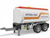 Przyczepa cysterna Petrol Bruder 03925