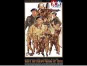 1/48 WWII British Infantry Set European Campaign Tamiya 32526
