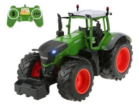 Zdalnie sterowany traktor 100% RTR 4,8V NiCd 2,4GHz Double Eagle E351