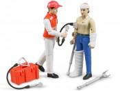 Bruder 62710 Figurki z akcesoriami medycznymi