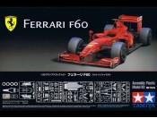 1/20 Ferrari F60 + elementy fototrawione Tamiya 20059