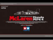 1/20 McLaren Honda MP4/4 Tamiya 89719