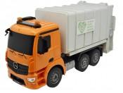 Zdalnie sterowana śmieciarka Mercedes Antos 2,4GHz Double Eagle E560