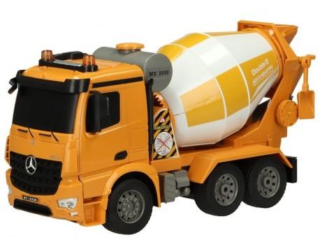 Zdalnie sterowana betoniarka Mercedes Arocs 2,4GHz Double Eagle E528