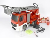 Zdalnie sterowana straż pożarna Mercedes RTR 2,4GHz Double Eagle E527
