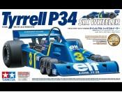 1/12 Tyrrell P34 Six Wheeler + elementy fototrawione Tamiya 12036