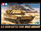 1/48 US Main Battle Tank M1A2 Abrams Tamiya 32592