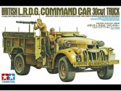 1/35 British LRDG Command Car 30cwt Truck Tamiya 35092