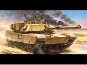 Czołg M1A2 Abrams - p/opcja Tamiya 56041