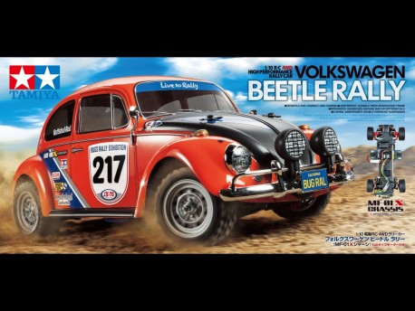 MF-01X VW Beetle Rally Tamiya 58614