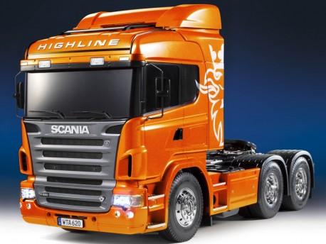 Scania R620 6x4 Highline Full Option RTR Tamiya 23689