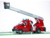 Bruder 02532 MB Sprinter wóz strażacki z modułem sygnalizacyjnym